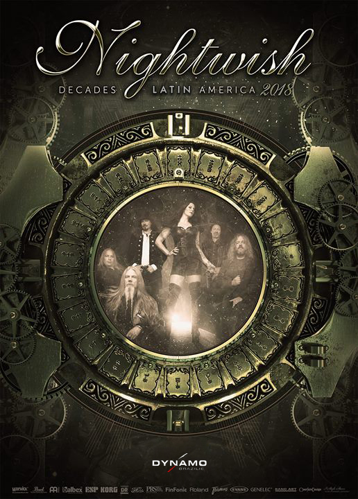Nightwish - latin america 2018